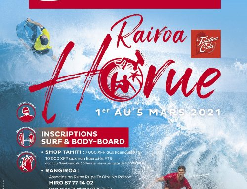 Vini partenaire de la Air Tahiti Rairoa Horue